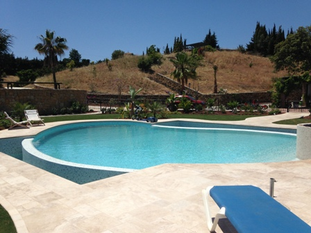 Piscina privada en estepona m laga proyectos y servicios integrales - Proyecto piscina privada ...